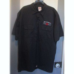 Italian Choppers Short Sleve Work Shirt XXL Black